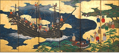 At the end of the Warring States period, Portugese ships arrived in Japan, and the trade with the West started.  The Western ships first arrived in Hirado, but due to the discord with the Matsuuras, the Hirado lord of the manor, the Portugese looked for alternative ports, and ended up finding Yokoseura in Omura. 