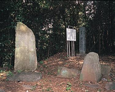 国道444号線沿いの田下(たじも)の入口に、承応2年(1653年)に建てられた板状扁平形の墓碑が2基あります。これは、幕府のキリシタン禁教後であり、潜伏キリシタンの大発覚事件となって大村藩を揺り動かした「郡崩れ」直前という厳しい禁教の時代に建てられた大変貴重なものです。  この墓碑の特徴は、キリシタン様式の墓碑であるにも関わらず仏教の戒名を刻んであることです。1基は側面に、もう1基は付属塔と思われるものに刻んであり、日本でも大変珍しいものです。  大村藩では、1657年の「郡崩れ」以降、キリシタンの捜索も一層厳しくなり、残っていたキリシタンの墓なども破壊されたようです。この墓はそうした取り締まりから逃れるためにキリシタン様式の部分を土中に埋め、仏教の戒名を刻むなど仏教様式に改変したようです。  長い間、地中に眠っていましたが、地表面の流出により再び隠されていた部分が現れてきました。他の一部の墓碑とともに大村の禁教時代をしのばせる貴重なものです。